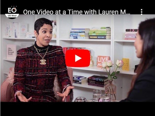 Lauren Messiah Youtube Thumbnail for Orange & Bergamot Blog