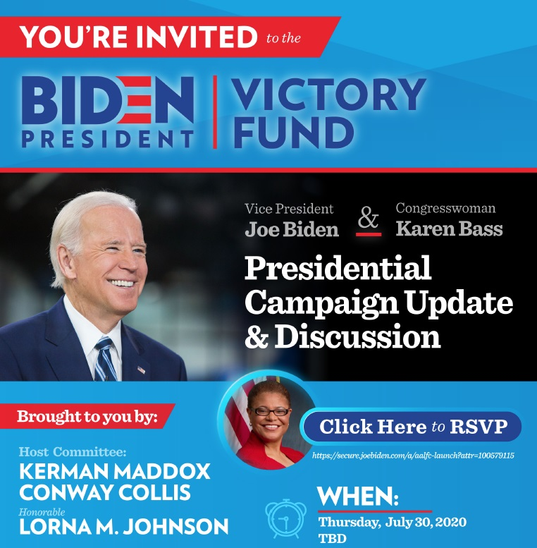 Biden President Victory Fund for Orange & Bergamot Blog