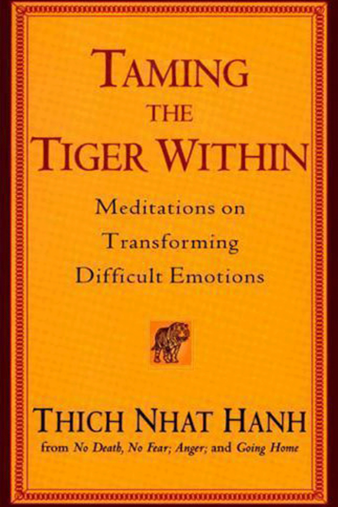 Taming the tiger within book Image for orange and bergamot