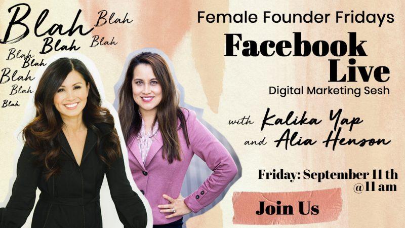 Female Founder Fridays Featured Image