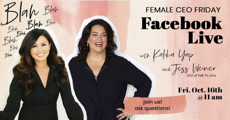 Facebook Live with Jess Weiner