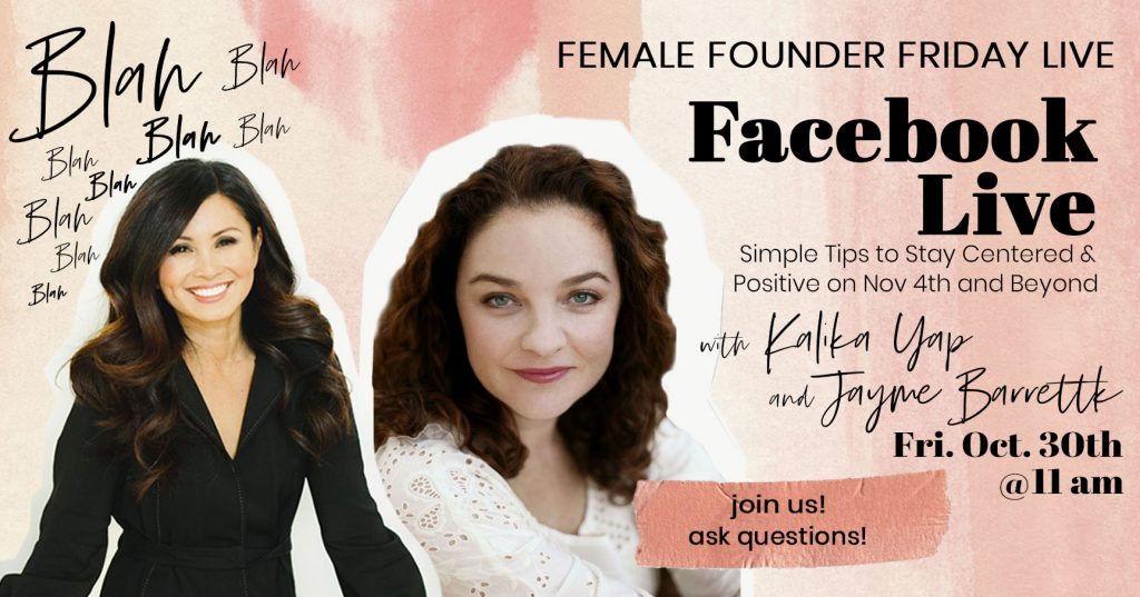 Facebook Live with Jayme Barrett