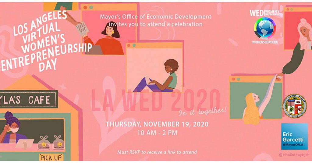 Los Angeles Virtual Women's Entrepreneurship Day 2020