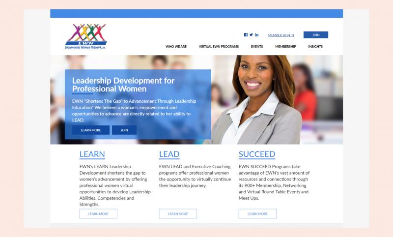 Empowering Women Network website