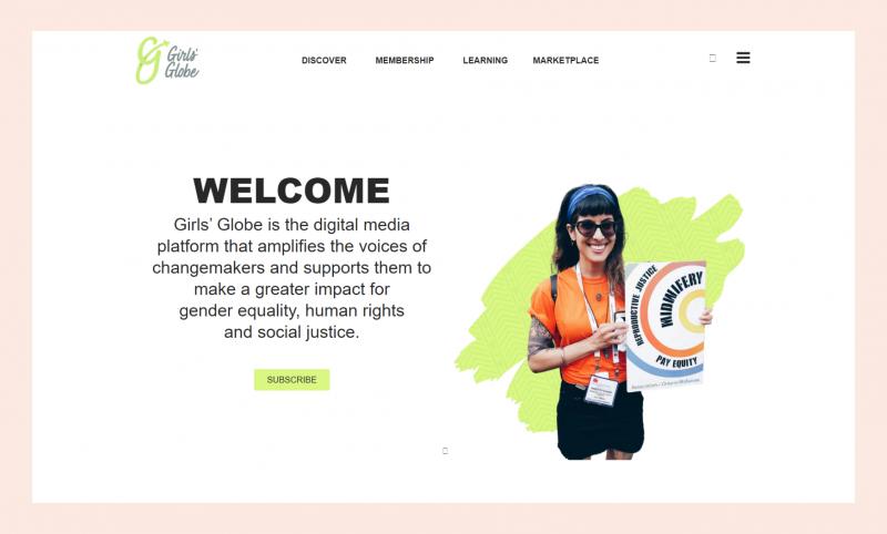 Girls Globe website