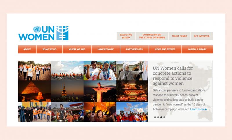 UN Women website