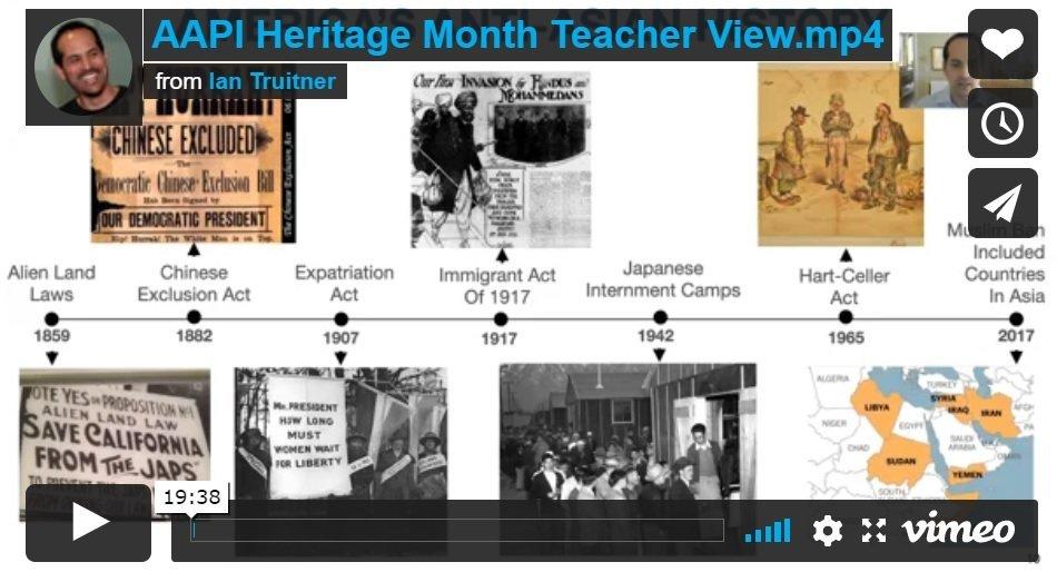 AAPI Heritage Month Teacher View